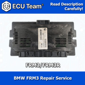 BMW FRM3 module, BMW FRM3R repair, Footwell module repair, Lighting module repair