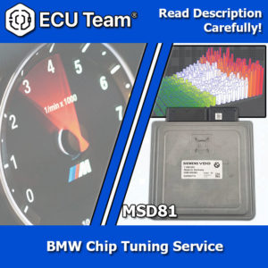 MSD81 chip tune, MSD81 performance upgrade, MSD81 dme performance chip