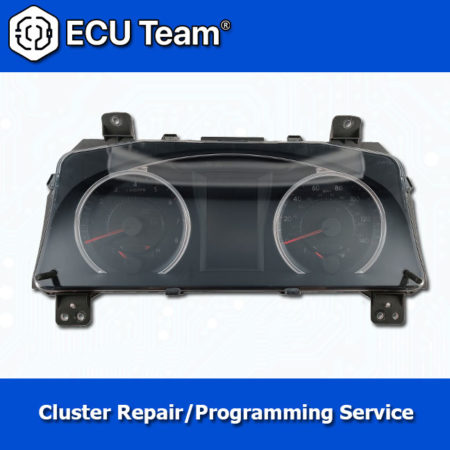 Toyota Camry cluster